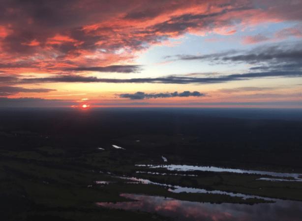 Закат в Чебоксарах