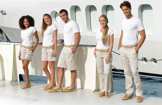 Экипаж на яхте