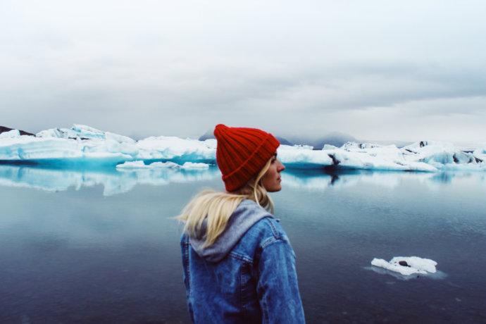 Кристина Эндлесс в Исландии
