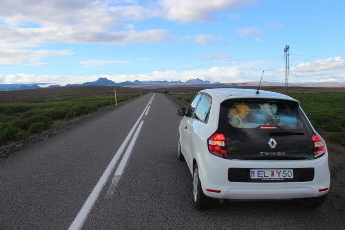 Автомобиль в Исландии -Hyundai i10