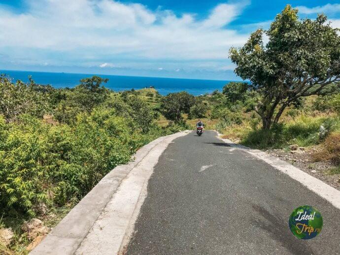 Дорога в Нуса Пенида
