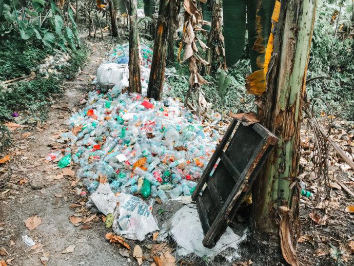 Пластиковый мусор на Филиппинах