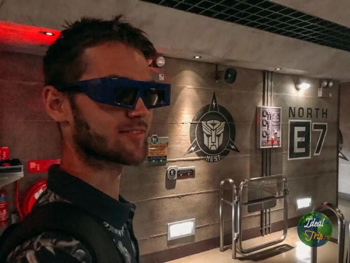 Трансформеры 3D Студия Юниверсал