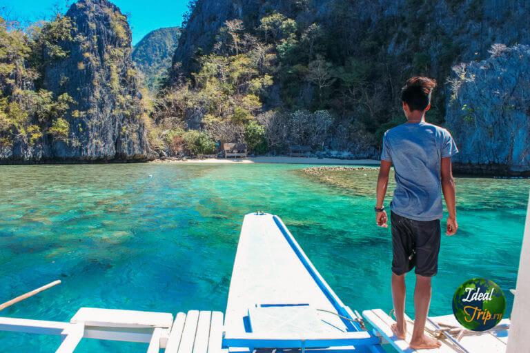 Пляж Isla Bulungan в Бусуанга