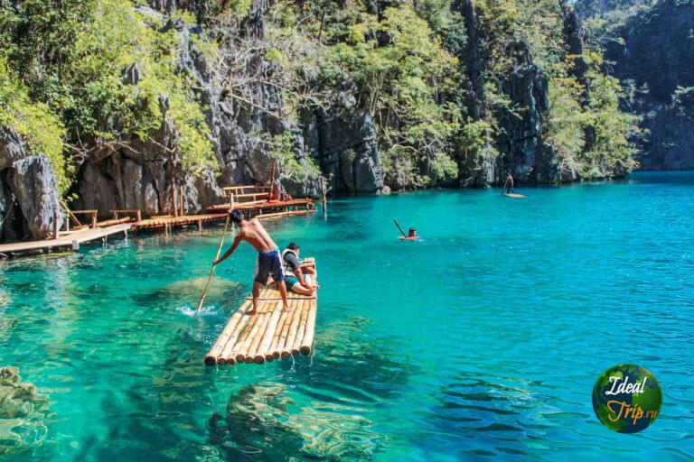 Прозрачное озеро Каянган (Kayangan)