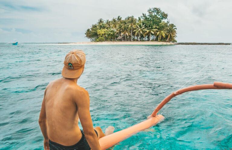 Остров неподалеку от Сиаргао