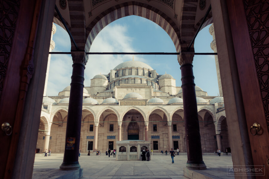 Мечеть Сулейманийе