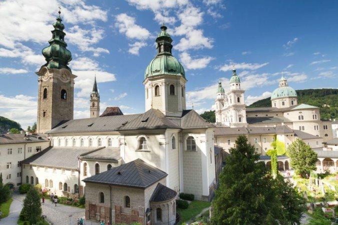 Аббатство Святого Петра в Зальцбурге