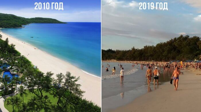 Пляжи в Азии