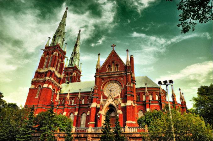 Готическая церковь Святого Иоанна